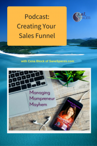 Create Your Sales Funnel|Podcast|SaneSpaces.com