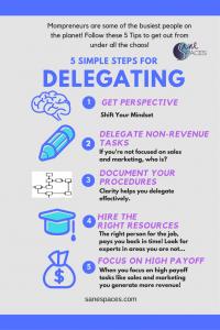 5 Tips To Help Mompreneurs Delegate Tasks