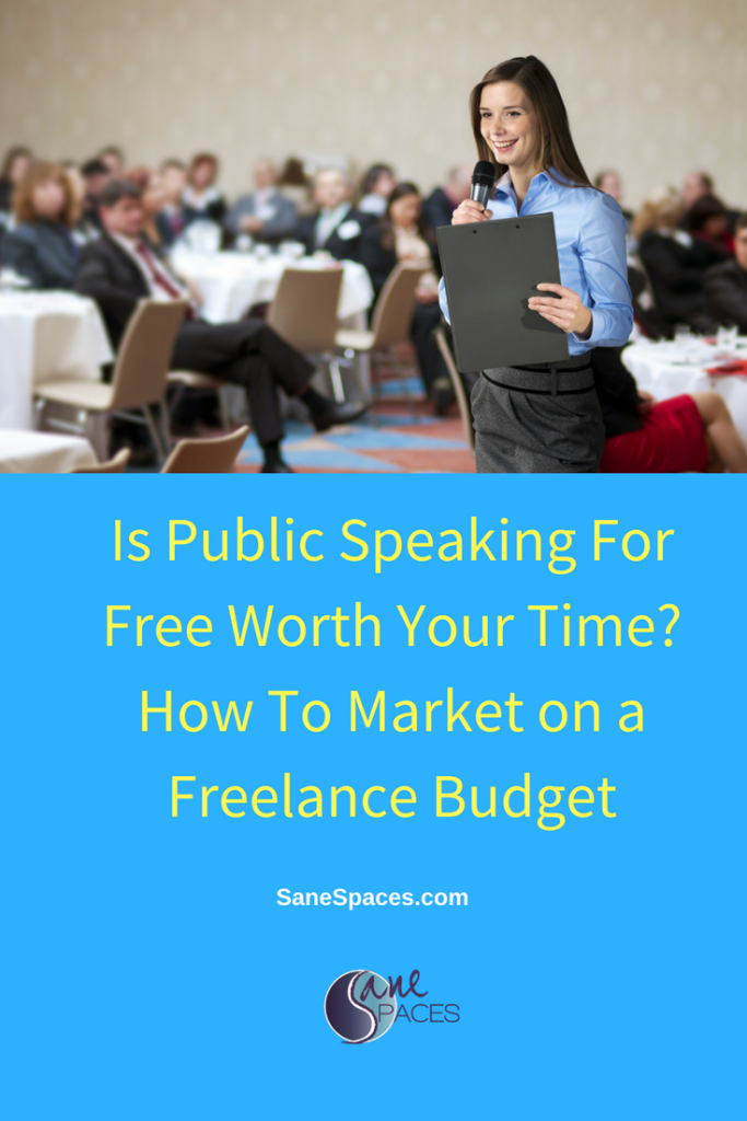 Free Public Speaking SaneSpaces.com
