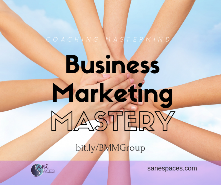 Business Marketing Mastery Group Coaching Mastermind for Entrepreneurs