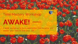Time Mastery Workshop Sane Spaces, LLC