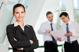 successful business pitch/business woman/sanespaces.com