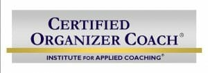 Certified Organizer Coach Cena Block Sane Spaces