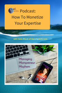 Monetize Business Expertise/podcast/sanespaces.com