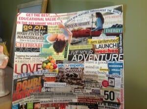 My Vision Board 2014