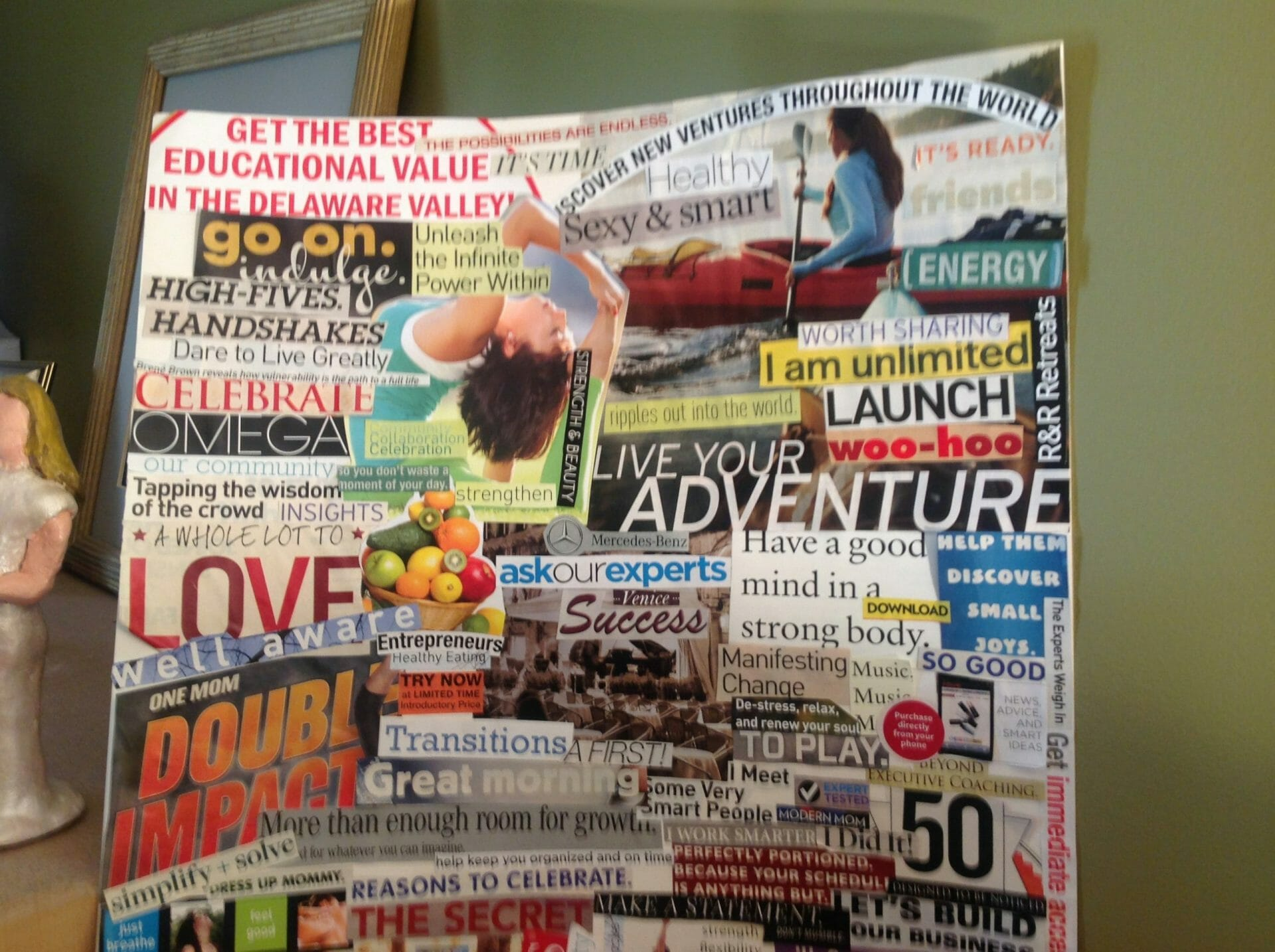 7 steps to create a vision board to align your feelings and manifest