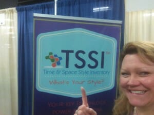Cena Block and the TSSI™ at NAPO2015/help with being productive/sanespaces.com