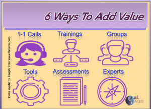 6 Ways to Add Value To Your Offers and Profit!/raise rates/sanespaces.com