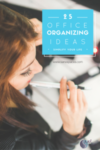 25 Office Organizing Ideas For More Productivity