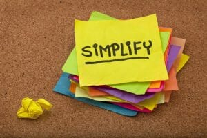 organize and simplify/sanespaces.com