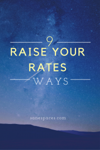 How To Raise Rates With Clients, Increase Profit and Retention