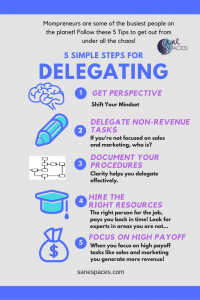 5 Tips To Help Mompreneurs Delegate Tasks