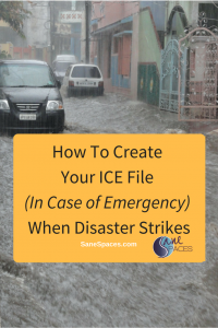 How To Create Your ICE File: Information You'll Need After Disaster Hits