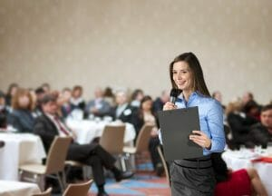 Is Public Speaking For Free Worth Your Time? How To Market on a Freelance Budget