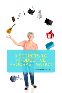 9 Secrets productive procrastination Sane Spaces