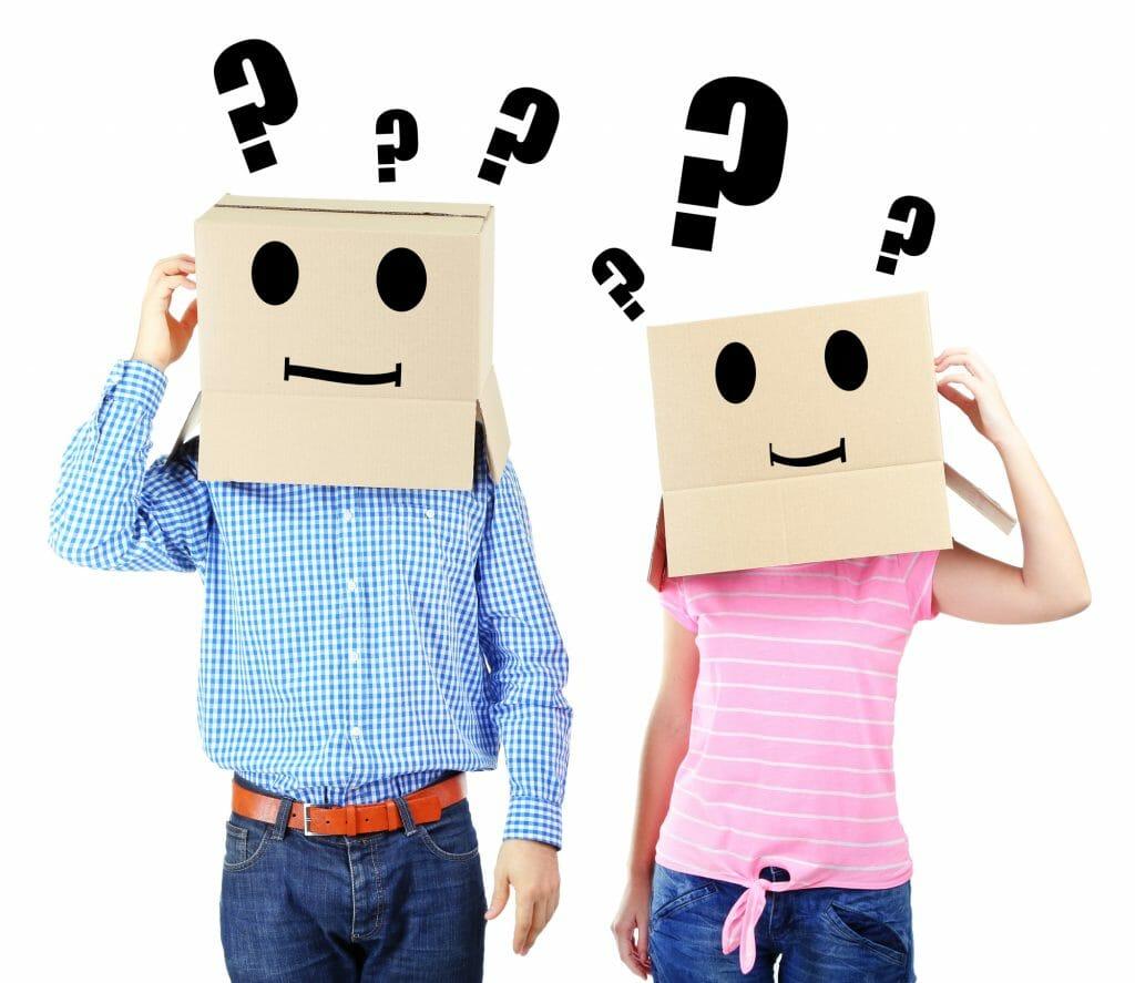 Questions overwhelm couple/sanespaces.com
