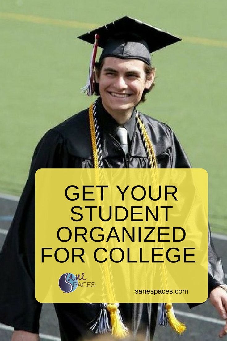 Organize Your College Student