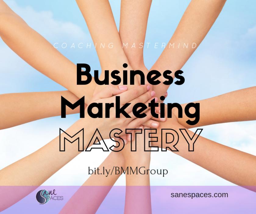 Business Marketing Mastery Group Coaching Mastermind for Entrepreneurs